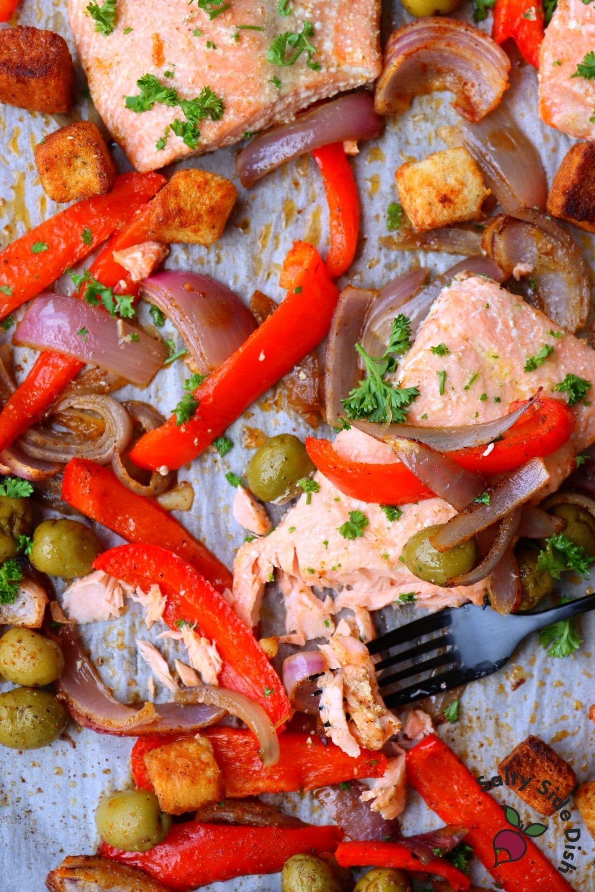 easy oven baked flaky salmon