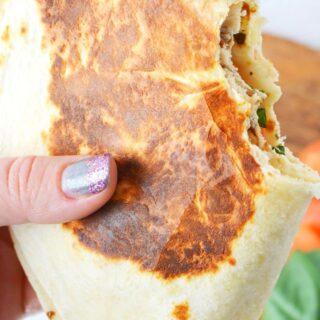 tortilla viral trend wrap hack tutorial