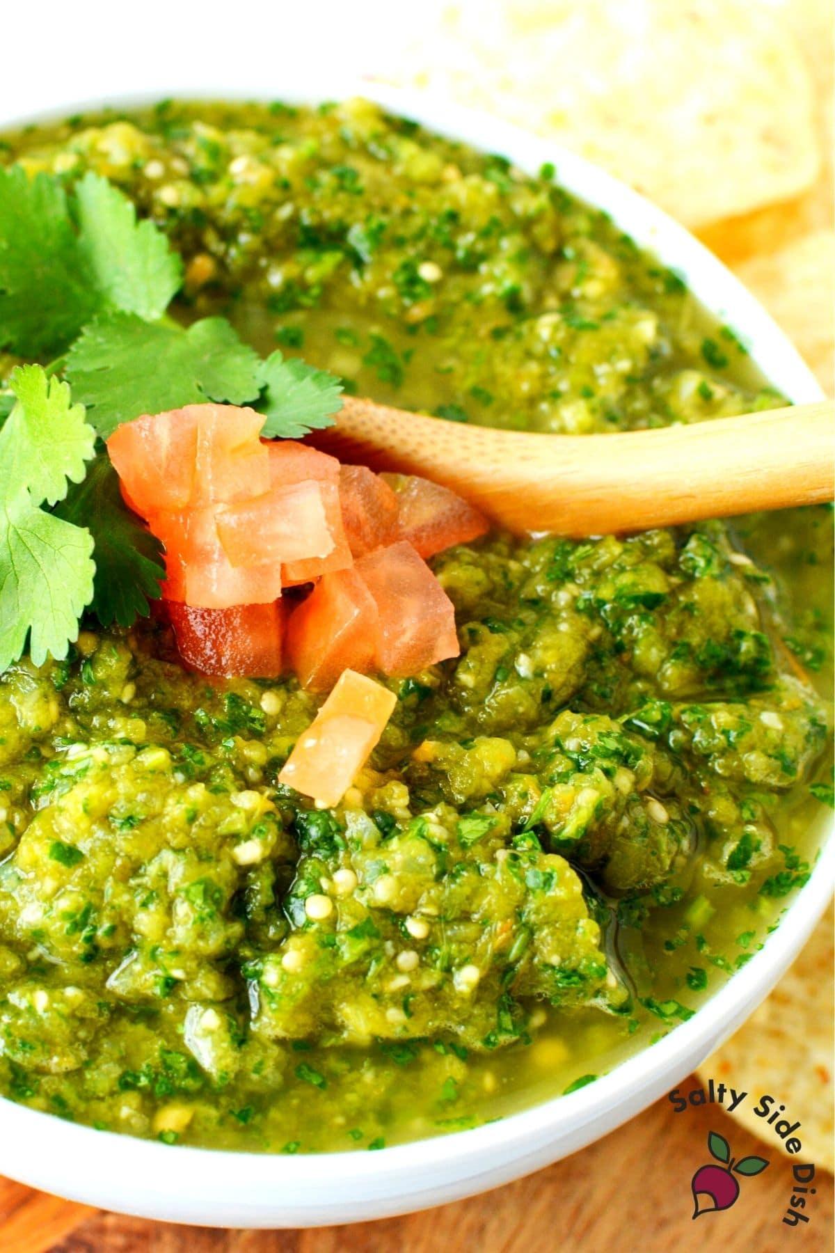 ninja foodi roasted vegetables for salsa verde