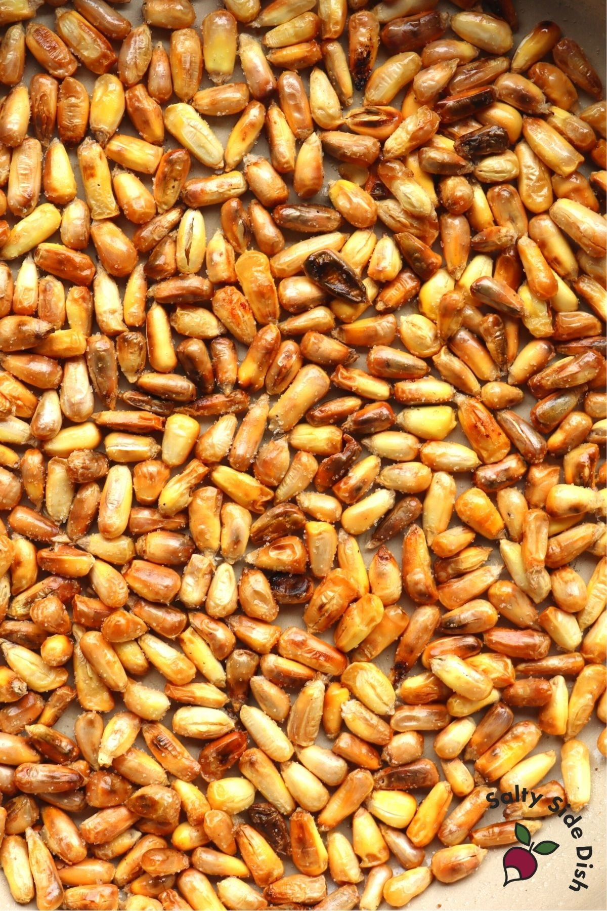 parched corn in oven