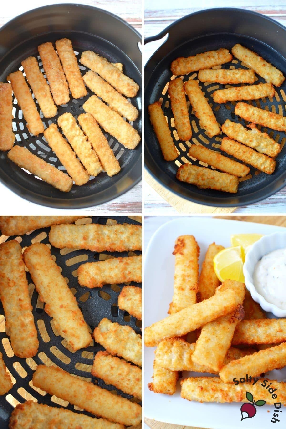 air fried frozen fish sticks