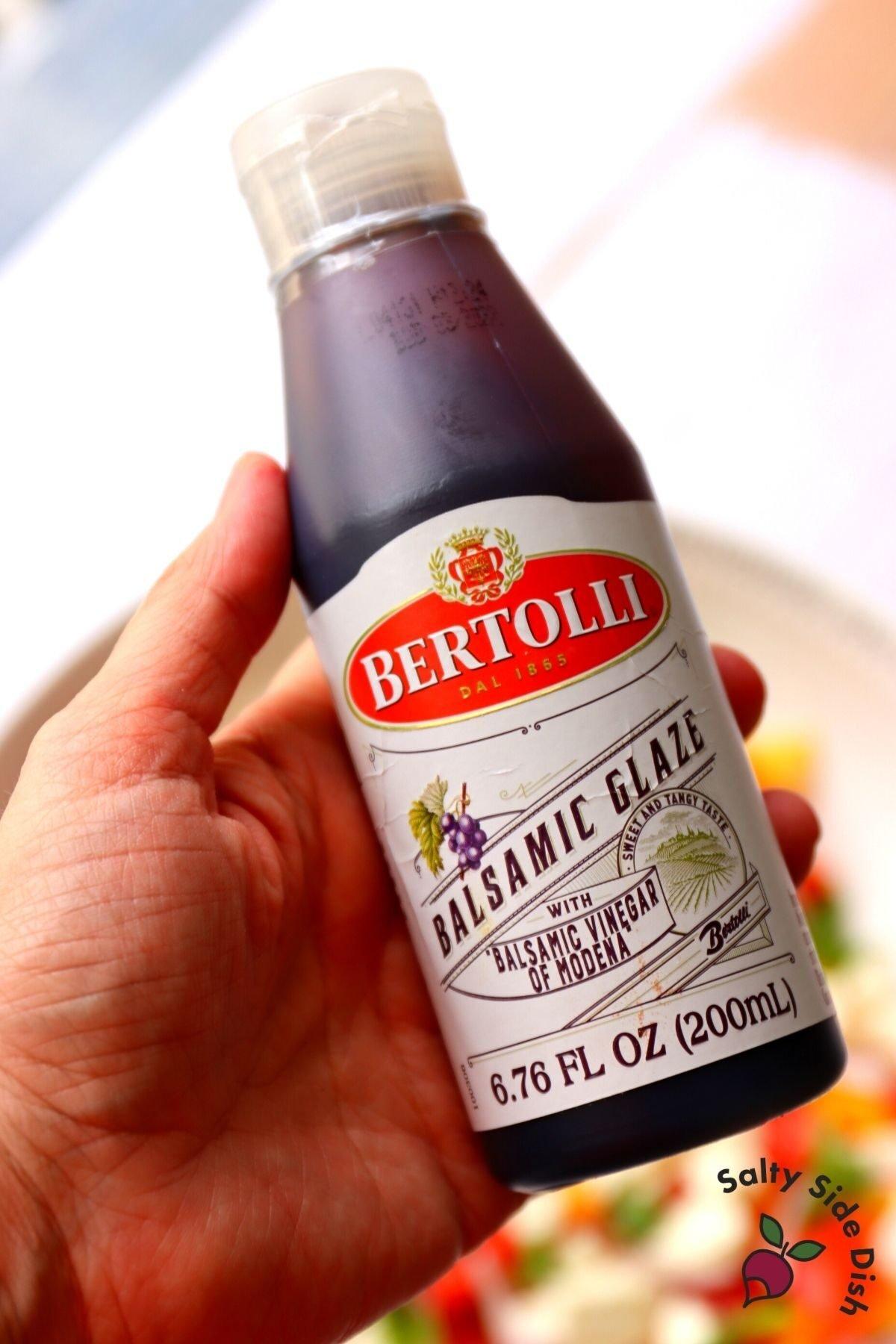 balsamic glaze bottle