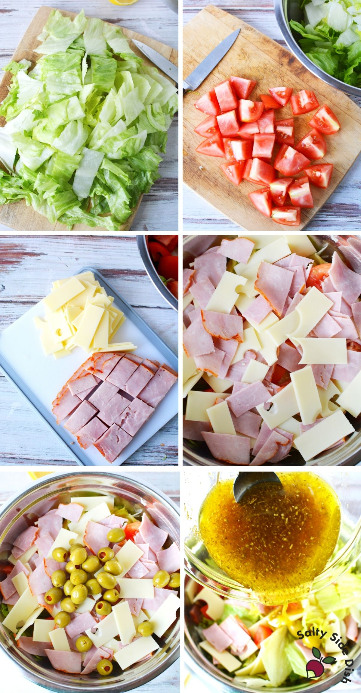 Columbia salad recipe