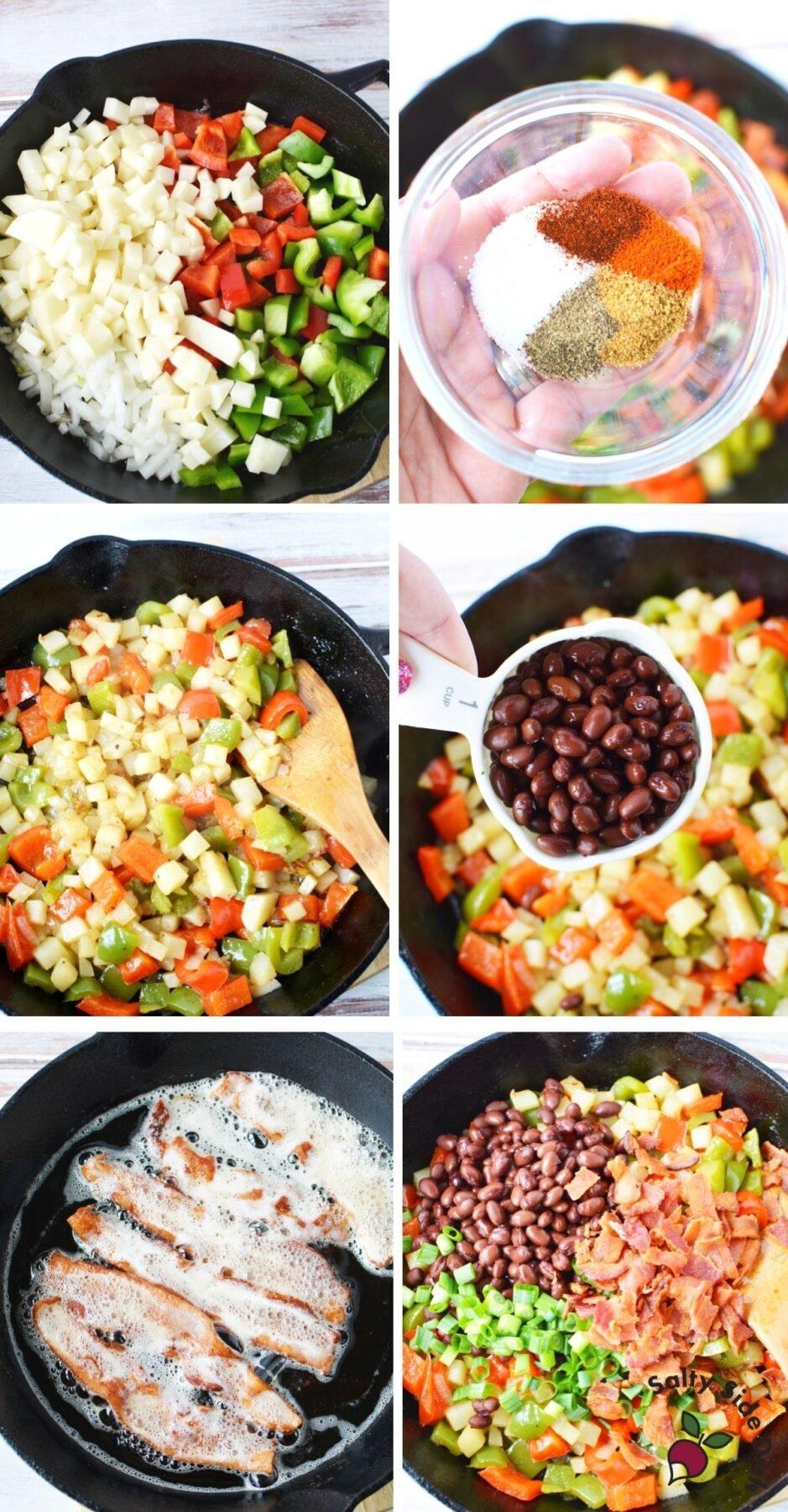 how to make cowboy breakfast casserole